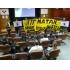 Dos antimilitaristas encausados por denunciar la implicación de los partidos políticos en la guerra